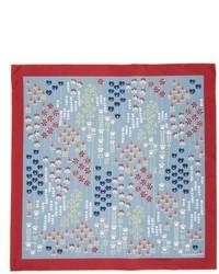 Valentino flower stems silk scarf medium 5309307