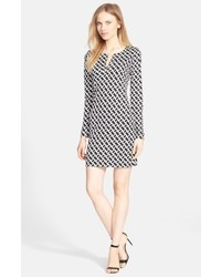 Diane von Furstenberg Reina Silk Shift Dress