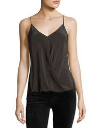 Bailey 44 Falafel V Neck Silk Camisole Top