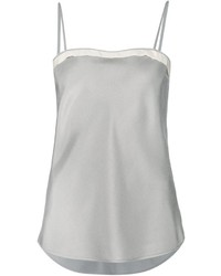 Thom browne contrast trim cami top medium 412565