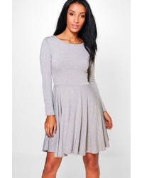 Jade long sleeve skater dress medium 3665714