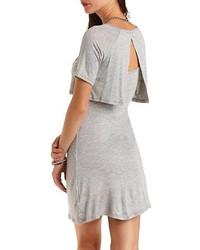 518617b6df ... Charlotte Russe Layered T Shirt Skater Dress
