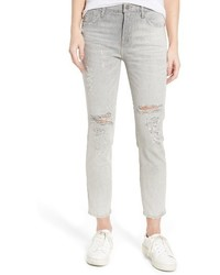 A Gold E Agolde Sophie High Waist Skinny Jeans