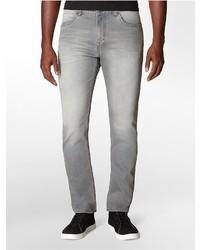 Calvin Klein Tapered Leg Marine Grey Wash Jeans