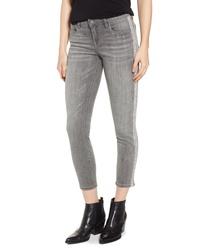 BLANKNYC Crystal Side Skinny Jeans