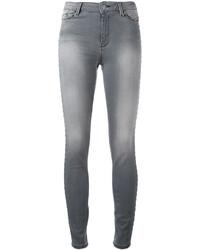 Karl Lagerfeld Faded Skinny Jeans
