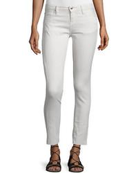 Jarod cropped skinny jeans chalk medium 651210