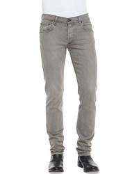 Rag and Bone Rag Bone Slim Skinny Denim Jeans Gray