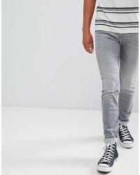 Tom Tailor Skinny Jeans In Grey Wash