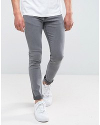 ONLY & SONS Skinny Washed Gray Jeans