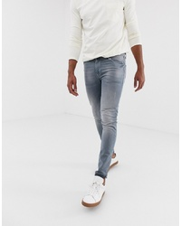 ASOS DESIGN Super Skinny Jean In Dusty Grey