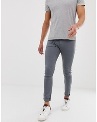 ASOS DESIGN Super Skinny Jeans In Grey
