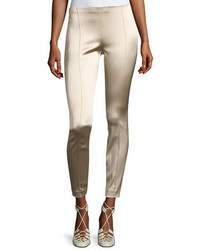 Cosso skinny satin ankle pants medium 3698086