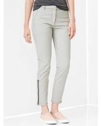 Gap Skinny Mini Zip Khakis