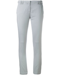 Eleventy Super Skinny Cropped Trousers