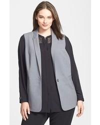 Grey sleeveless blazer original 7895418