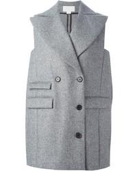 Antonio Berardi Double Breasted Sleeveless Coat