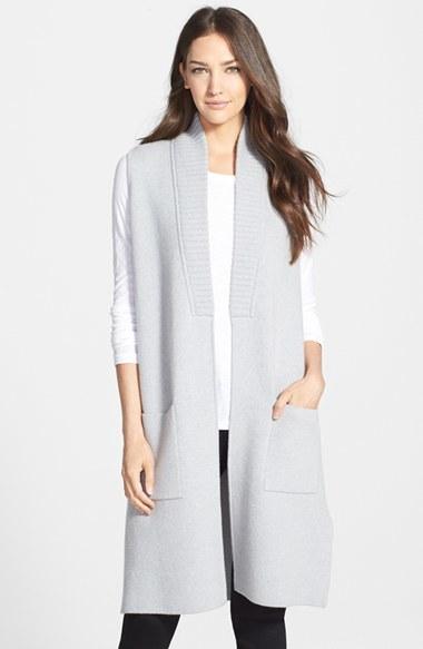 Classiques Entier Long Cashmere Sweater Vest