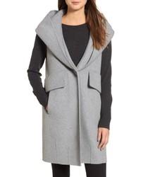 Double face sleeveless coat medium 6844485