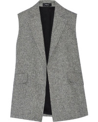 Theory Sedeia Linen Crepe Vest