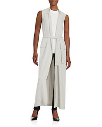 DKNY Sleeveless Trench Vest