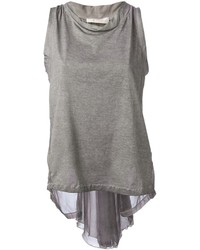 Grey sleeveless top original 3999293
