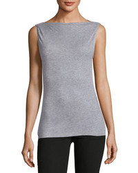 Madison sleeveless ribbed top medium 5146750