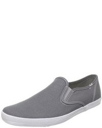 Grey slip on sneakers original 9745361