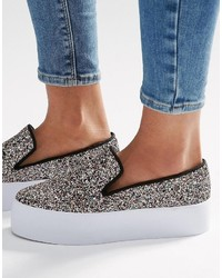 Asos Duchess Slip On Sneakers