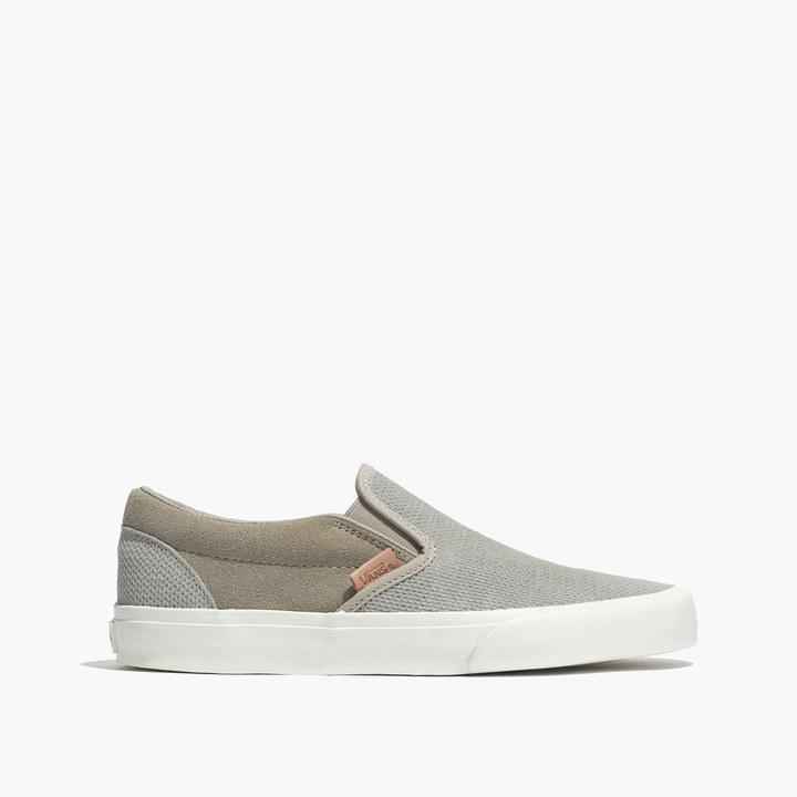 Madewell Vans Slip On Sneakers In