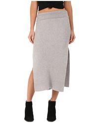 Felix rib maxi skirt medium 465252