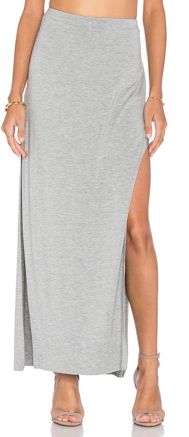Bella Luxx Side Split Maxi Skirt 92 Revolve Clothing Lookasticcom