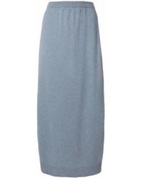 Of scotland side slit midi skirt medium 6993410