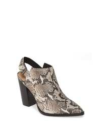 Halogen Brooke Stacked Heel Bootie