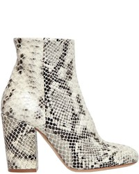 Strategia 90mm printed snake leather ankle boots medium 1316559