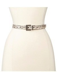 Calvin Klein 34 Reversible Logo Buckle And Loop Belt