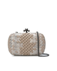 Bottega Veneta Knitted Clasp Clutch