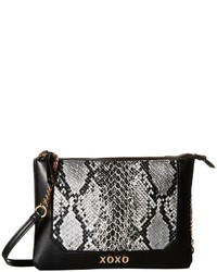 XOXO Snake Double Gusset Crossbody