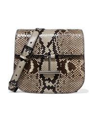 Tom Ford Tara Mini Python Shoulder Bag