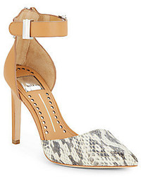 Kana python embossed pumps medium 129406