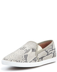 Kidmore python print slip on sneaker blackwhite medium 185248