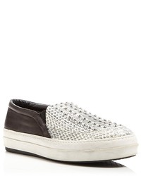 Bloomingdale's Mcq Flat Slip On Studded Sneakers Daze