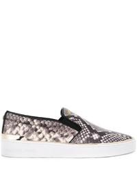 Michl michl kors snakeskin effect slip on sneakers medium 787758