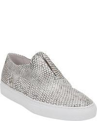 Sartore Python Laceless Sneakers