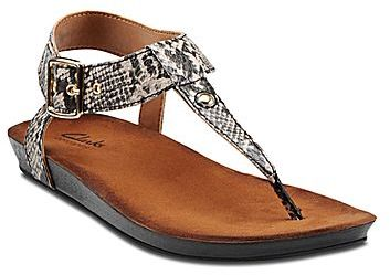 911b75dcf6b1a5 ... Clarks Lynx Charm Thong Sandals ...