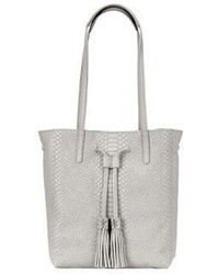Hannah python embossed leather tote medium 3702616