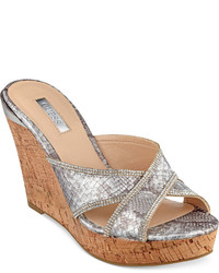 Eleonora platform wedge slide sandals shoes medium 241935