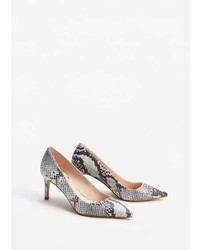 Mango Snake Finish Pumps