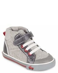 See Kai Run Boys Dane Cotton Jersey High Top Sneakers