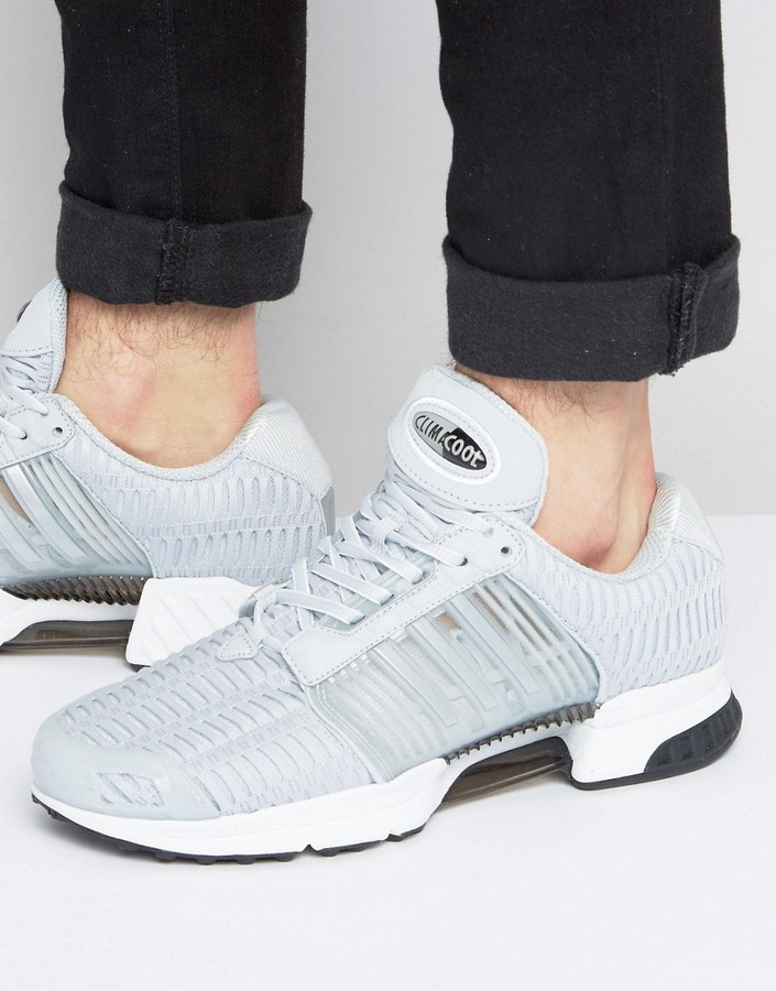 new concept ddf82 9654f $77, adidas Originals Climacool 1 Sneakers In Gray Ba7167